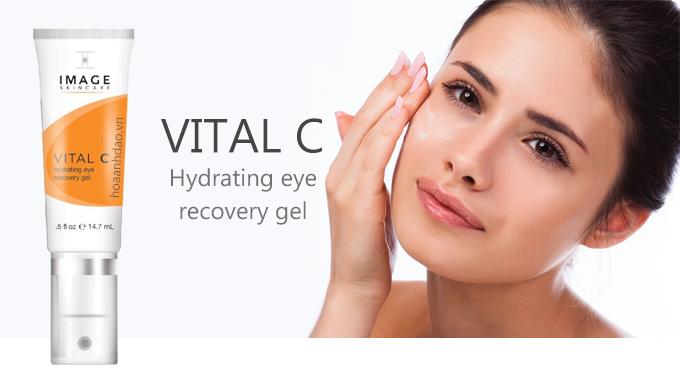 Kem Dưỡng ẩm Phục Hồi Chống Thâm Quầng Mắt Image Skincare Vital C
