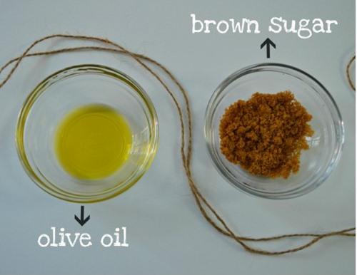 mặt nạ trị nám da từ chanh và đường nâu