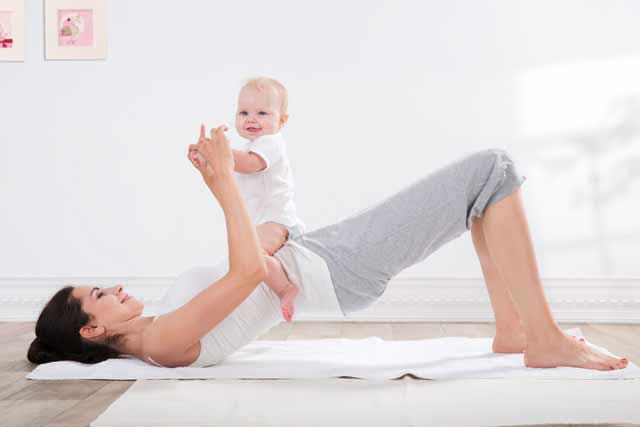 Kết quả hình ảnh cho Những bài tập thể dục cho cơ ngực săn chắc sau sinh