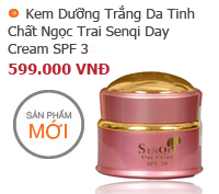 Kem Dưỡng Trắng Da Senqi Day Cream SPF 30 tinh chất ngọc trai
