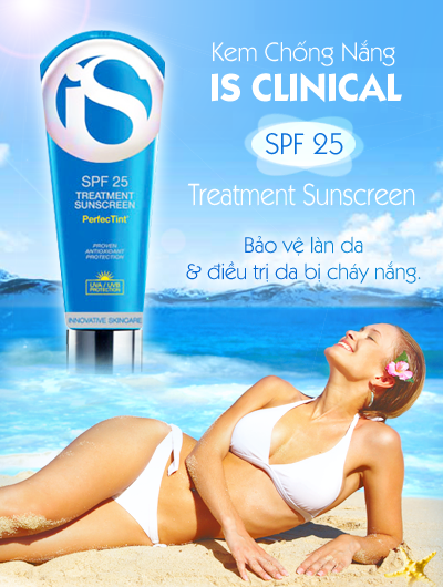 Kem Chống Nắng Giữ Ẩm IS CLINICAL SPF 25 Treatment Sunscreen