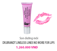 Son dưỡng môi Dr.brandt Lineless lines no more for lips