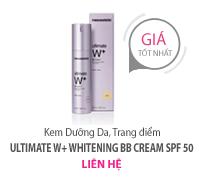 Kem trang điểm Ultimate W+ Whitening BB Cream SPF 50