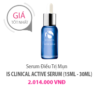 Serum Điều Trị Mụn iS CLINICAL ACTIVE SERUM (15ml - 30ml)