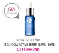 Serum Điều Trị Mụn iS CLINICAL ACTIVE SERUM (15ml - 30ml)