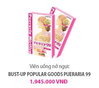 Viên uống nở ngực Bust-up Popular goods Pueraria 99