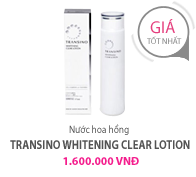 Nước hoa hồng transino whitening Clear Lotion