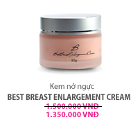 Kem nở ngực Best Breast Enlargement Cream