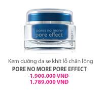 Kem dưỡng da se khít lỗ chân lông  Pore No More Pore Effect