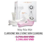 Máy Rửa Mặt Clarisonic Mia 2 Sonic Skin Cleansing
