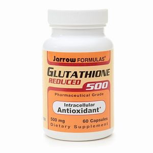 Viên uống trắng da Glutathione Jarrow 500 mg