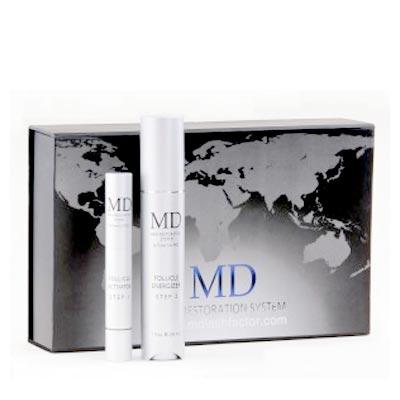 Bộ Sản Phẩm Kích Thích Mọc Tóc MD Hair Restoration Follicle  Energizer