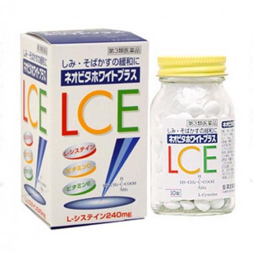 Viên uống trắng da trị nám VITA WHITE PLUS LCE của Nhật