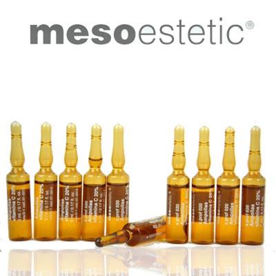 Serum Trị Thâm Nám, Chống Lão Hóa Mesoestetic Ampollas Vitamin C 20‰