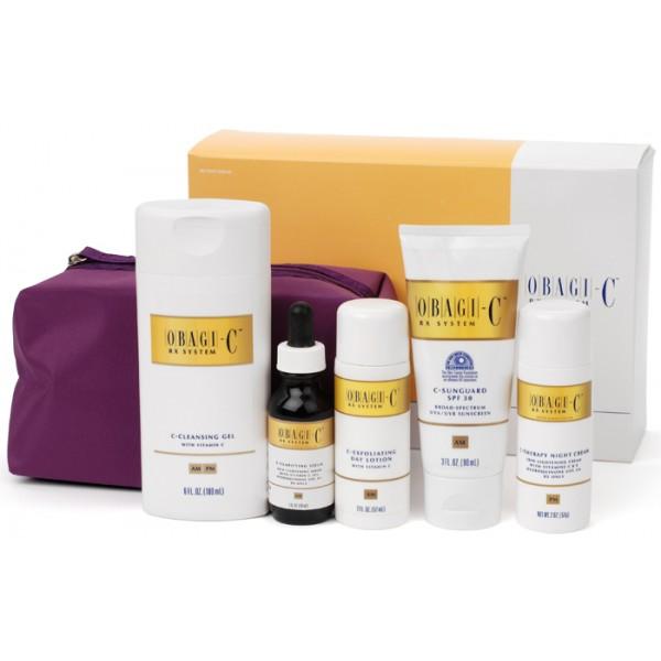 Bộ dưỡng trắng da, điều trị nám, tàn nhang Obagi-C® Rx System
