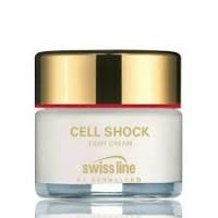 Kem Chống Lão Hóa Da Cell Shock Light Cream Swissline dành cho da dầu và da hỗn hợp