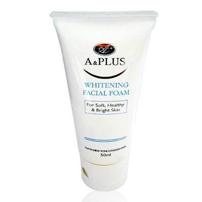 Sữa rửa mặt trị mụn bằng thảo dược A&Plus Whitening Facial Foam