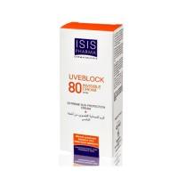 Kem chống nắng bảo vệ da tối đa Uveblock SPF 80 Invisible