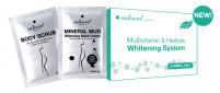 MUA 3 TẶNG 1 Bộ kem tắm trắng Vitamin C và thảo dược tổng hợp Sakura Multivitamin & Herbals Whitening System