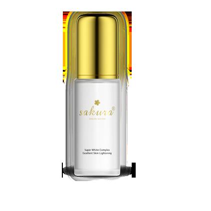 Tinh chất dưỡng trắng da chống Lão Hóa Ngày Và Đêm Sakura Super White Complex Excellent Skin Lightening