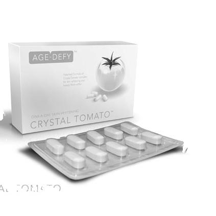 Viên Uống Trắng Da Toàn Thân Crystal Tomato của Mỹ