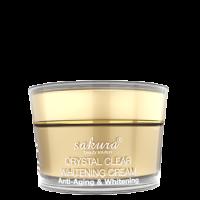Kem dưỡng trắng da chống lão hóa Sakura Anti - Aging Whitening Cream Mẫu Mới