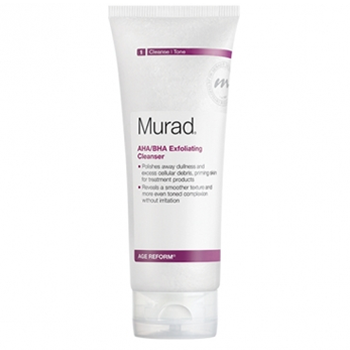 Sữa rửa mặt tẩy da chết làm mềm cấu trúc da Murad AHA/BHA Exfoliating Cleanser