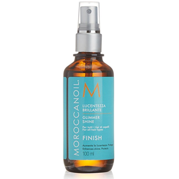 Xịt bóng giữ nếp tóc Moroccanoil Finish Glimmer Shine