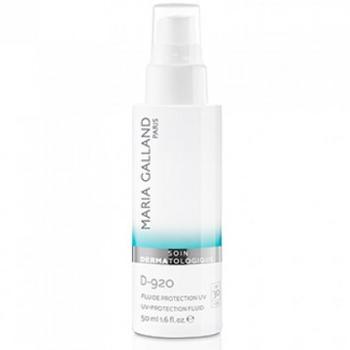 Kem chống nắng trị nám trắng da Maria Galland UV protection fluid SPF30 D-920