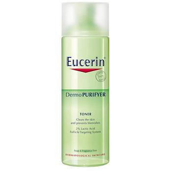 Nước hoa hồng sáng da, se lỗ chân lông, hỗ trợ giảm mụn, dầu nhờn Eucerin Purifyer Toner