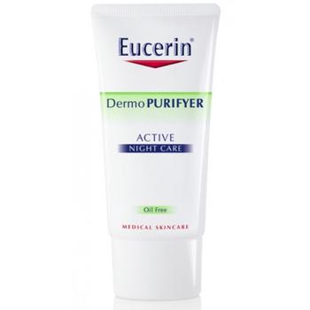 Kem dưỡng ẩm cân bằng dầu cho da mụn Eucerin Active Night