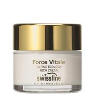 Kem sinh học hồi sinh da khô và lão hóa Swissline Alpine Ecology Rich Cream