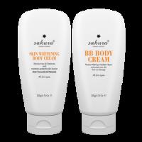 Bộ Kem Dưỡng Da Toàn Thân Sakura Body Whitening Cream
