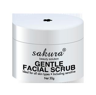 Tẩy tế bào chết vùng mặt Sakura Gentle Facial Scrub