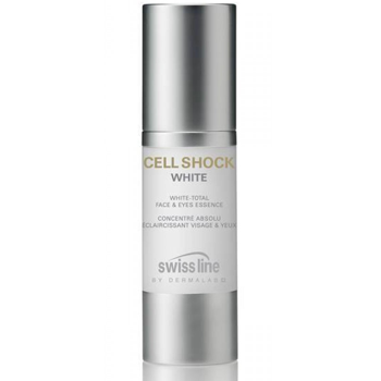 Kem trắng da mặt và mắt Cell Shock White Face & Eye Essences Swissline