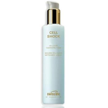 Sữa rửa mặt làm dịu da và chống lão hóa Cell Shock Cellular Cleansing Foam Swissline