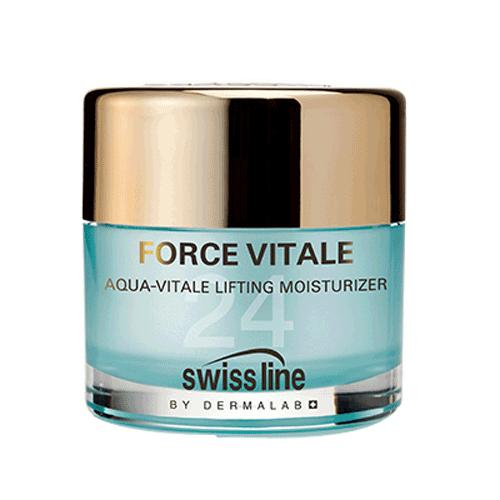 Kem tạo ẩm và phục hồi lão hóa nâng cơ Swissline Aqua Vitale Lifting Moisturizer