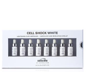 Tinh chất làm trắng da trị đốm nâu Swissline Lightening Cure Ampoules