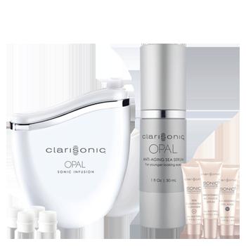 Máy chống lão hóa Clarisonic Opal White Gift Set