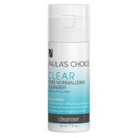 Sữa rửa mặt trị mụn và se khít lỗ chân lông Paula's Choice Clear Pore Normalizing Cleanser 30ml