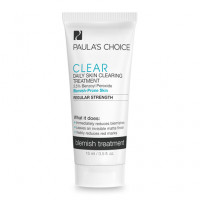 Gel giảm mụn Paula's Choice Clear Regular Strength Daily Skin (2,5% Benzol) 15ml