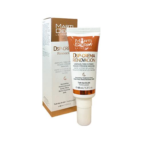 Kem trị đốm nâu, dưỡng trắng và tái tạo da MartiDerm DSP-Crema Regeneration