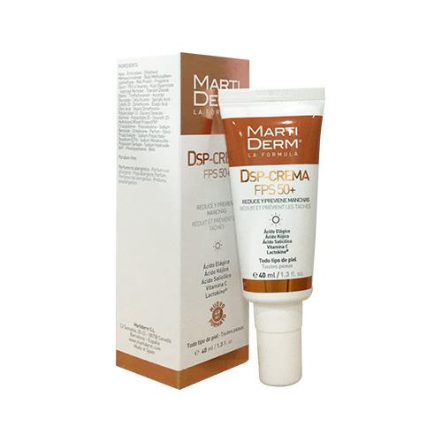 Kem trị đốm nâu, dưỡng trắng và chống nắng MartiDerm DSP-Crema SPF 50