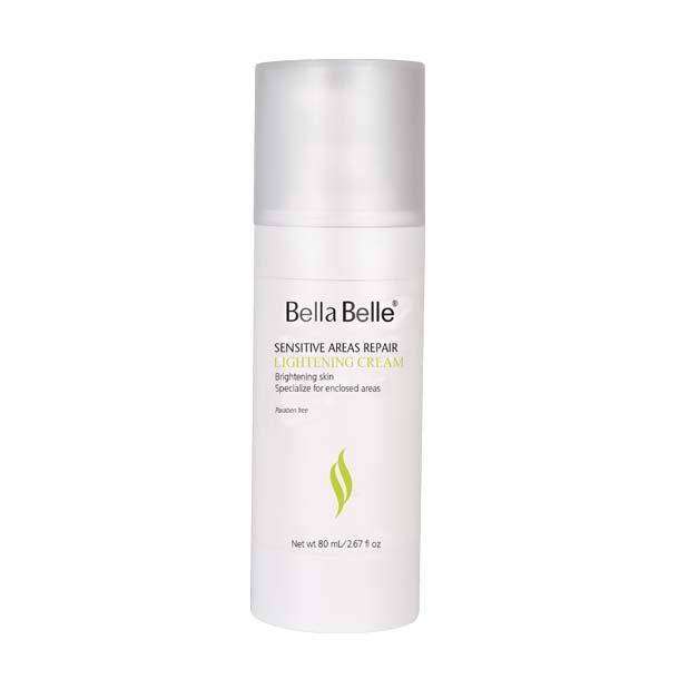 Kem dưỡng trắng da, trị thâm vùng nhạy cảm  Bella Belle Sensitive Areas Repair Lightening Cream