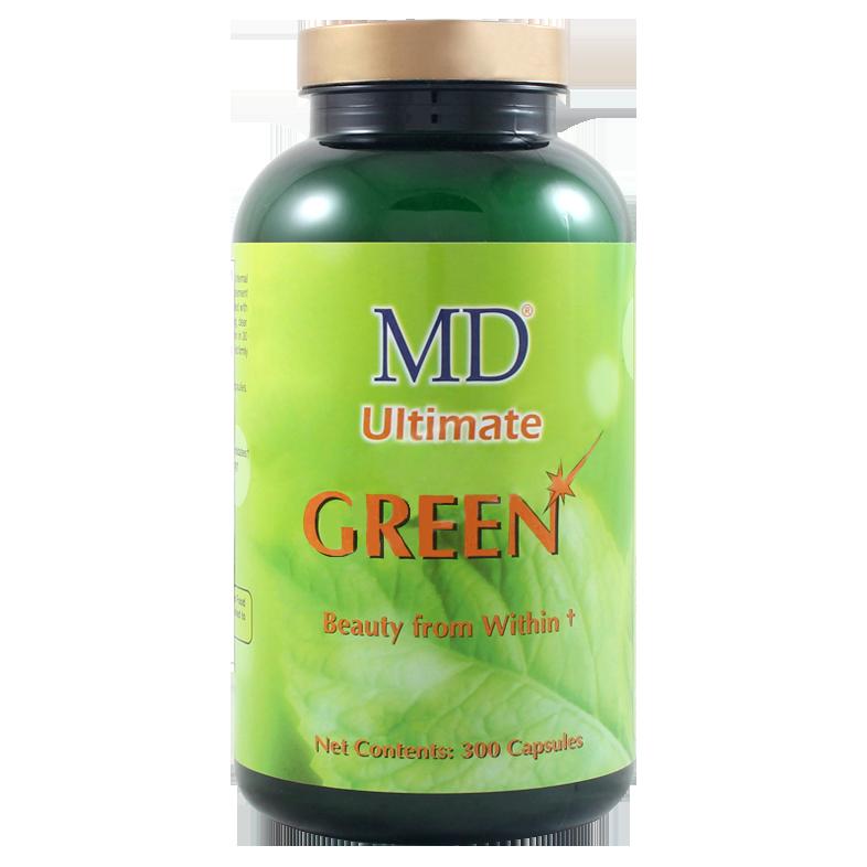 Viên uống giải độc gan trị mụn đẹp da MD Ultimate Green