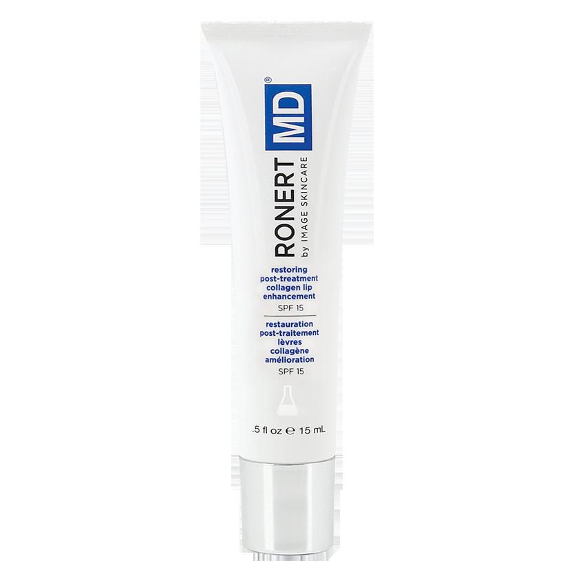 Gel dưỡng môi và chống nắng Image MD Restoring Post Treatment Collagen Lip Enhancement SPF 15