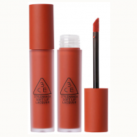 Son kem lì 3CE Soft Lip Lacquer Null Set – Đỏ Gạch