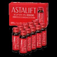 Nước uống bổ sung Collagen tinh khiết dạng nước Astalift Drink Pure Collagen 10,000mg (10 chai)