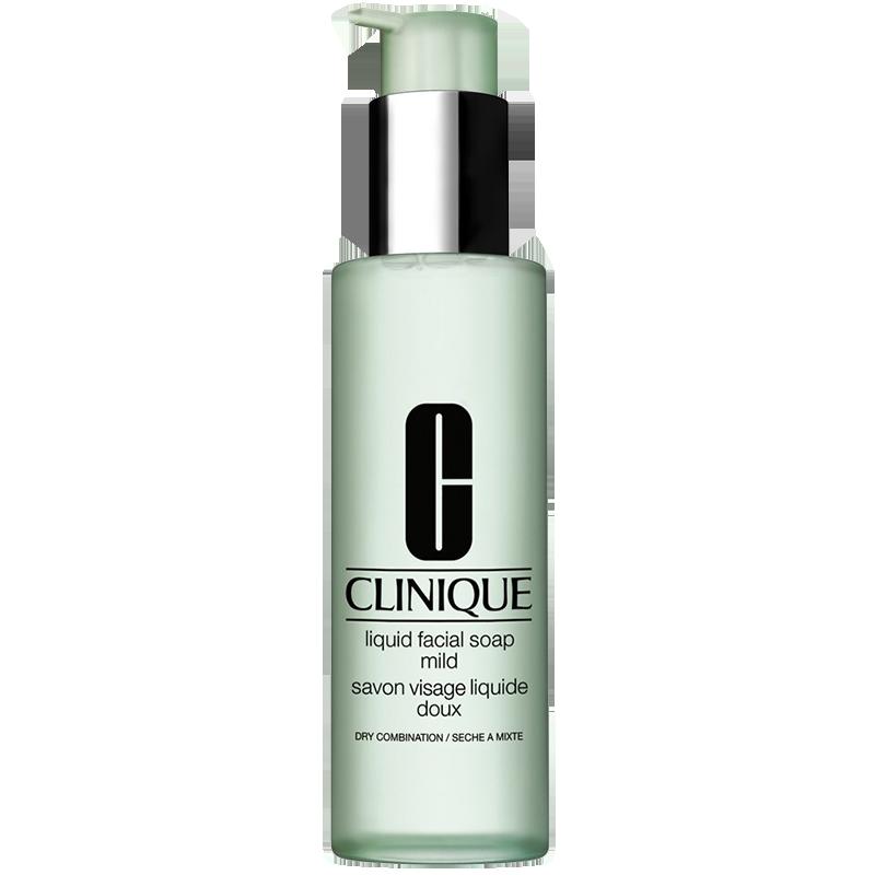 Sữa rửa mặt cho da hỗn hợp khô Clinique Liquid Facial Soap Mild