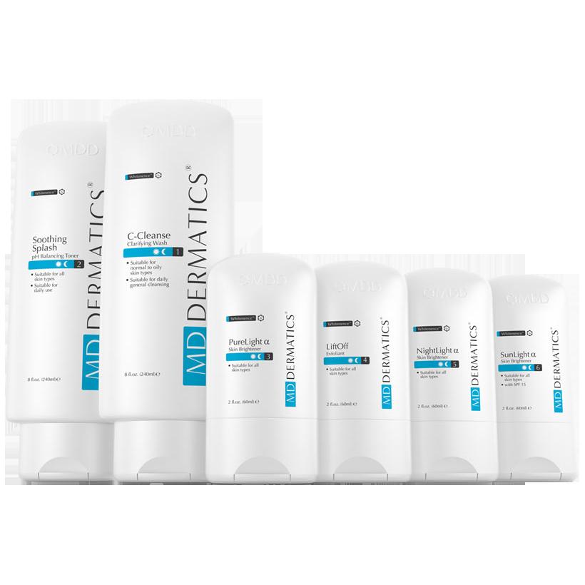 Bộ sản phẩm tái tạo da giảm nám MD Dermatics Skin Rebirth System